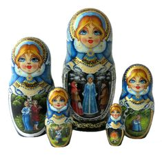 Princess Zelda, Disney Princess, Disney Characters, Fictional Characters, Dolls, Matryoshka Doll, Russia, Beautiful Dolls, Snow