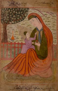 Persian Mary and Son