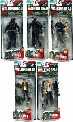 X5 set of Figures from The walking dead. More info on our site.