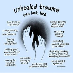 Mental And Emotional Health, Emotional Healing, Mental Health Awareness, Ptsd Awareness, Trauma Quotes, Coaching, Inner Child Healing, Trauma Therapy, Image Citation