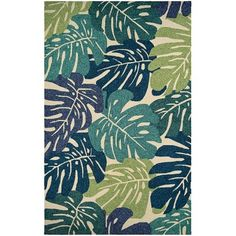 Beachcrest Home Totterdell Hand-Knotted Indoor/Outdoor Area Rug Rug Size: 8' x 11'