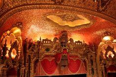 Ceiling of the Ohio Theater - Columbus, Ohio