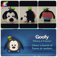 Tsum Tsum Goofy Pattern by uDezignCrafts on Etsy