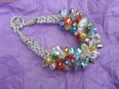 My design using marquis-cut glass beads and seed beads. wisewomanweaves-w3.com
