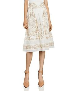 Shop for BCBGMAXAZRIA Embroidered Midi Skirt with FREE Shipping & FREE Returns. Pick Up in Store Available.