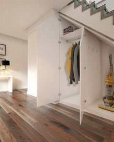 Understairs Storage Cupboard Interiors