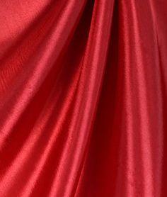 Red+Taffeta+Fabric
