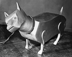 Sparko the robot dog from 1940