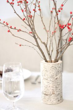 Guest Blogger: Julie Blanner with A Simple Holiday Table Setting