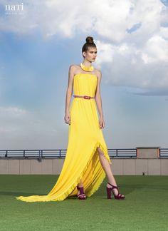 40% SALE YELLOW DRESS best beach summer dress by NATIPUREIDEA