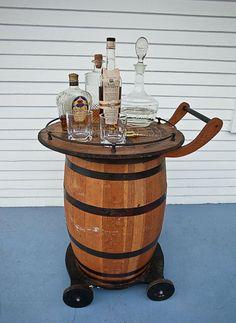 Nice booze drivable tray
