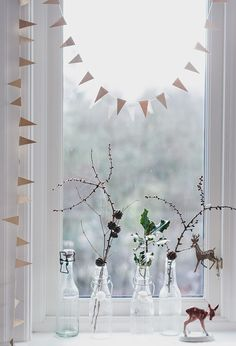 all in the details. Love the mini bunting, made some for my shower room little window!
