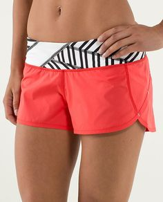 Run: Speed Short in Love Red // lululemon. quite possibly my fave speed shorts so far <3