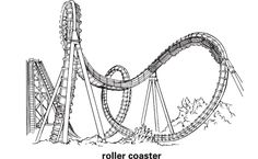 Kicela hol es free roller coaster coloring pages to print for clip art