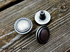 Vintage Industrial Farmhouse Weathered Nickel Dresser Knobs by www.MagicalBeansHome.com