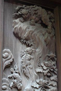 神社 彫刻