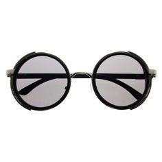 Cool Unisex Metal Retro Vintage Steampunk Round Sunglasses R2640 – FREYRS - Beautifully designed, cheap sunglasses for men & women