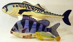 Resultado de imagen para carved wooden fish