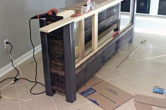 Building our Coffee Bar Base
