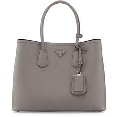 Prada Saffiano Cuir Double Bag