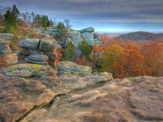 Garden of the Gods, southern Illinois