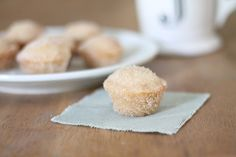 Meltaway Muffins - Cinnamon Sugar Donut Holes without the Fuss!