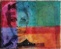 art-journal z transferem | art-journal with transfer by Agnieszka Anna