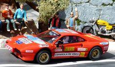 Scalextric Fábrica de Juguetes A10215S300. Ferrari 308 GTB. XVI Rally de Osona 1984. Antonio Zanini-Josep Autet. #slotcar #rally #ferrari #zanini