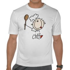 Male Chef T Shirt  #chef #professions #t-shirts
