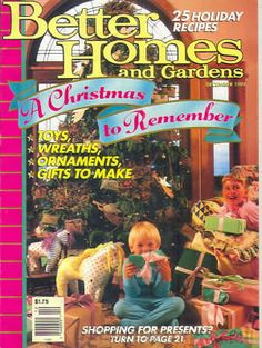 Better Homes And Gardens Magazine December 1989 Back Issues, Past Issues  And Used Magazines