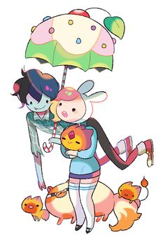 Fionna and Marshal Lee