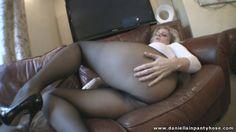 pantyhose thighs - Daniella IN Pantyhose Videos