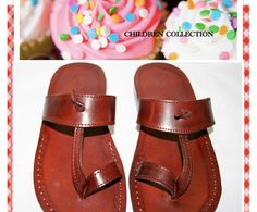 Children Leather Sandals  Twizzle Design by SANDALI on Etsy, $40.00