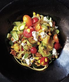 Put tomatoes, corn, and zucchini to good use in these easy—and surprising—summer dinner recipes.