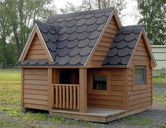 Amazing Dog Houses   Whether your dog is big or small, we can build a dog house that both ...