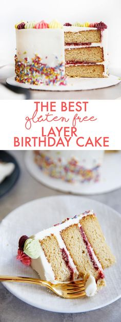 The BEST Gluten-Free Layer Birthday Cake - Lexi's Clean Kitchen