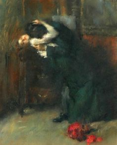 ♥ Antonio Ambrogio Alciati (1878-1929) - 'The Kiss'
