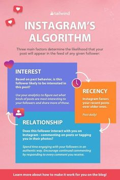 How to Make Instagram's Algorithm Work for You #instagrammarketing E-mail Marketing, Marketing Quotes, Digital Marketing Strategy, Content Marketing, Affiliate Marketing, Social Media Marketing, Marketing Strategies, Marketing Ideas, Instagram Marketing Tips