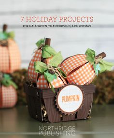 Free Holiday Ideas for Halloween, Thanksgiving, and Christmas!