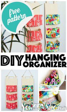 DIY Hanging Organize