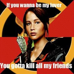 haha spice girls + hunger games
