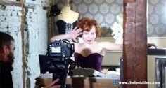 """Lady Cherry en el rodaje de """"The show"""" para el nuevo videoclip de 'The Ladies'"""
