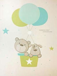 Panda Nursery, Nursery Art, Baby Painting, Painting For Kids, Baby Canvas, Panda Art, Baby Illustration, Baby Art, Baby Room Decor