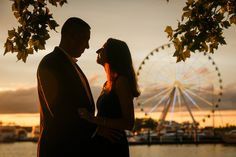 National Harbor Engagement Session Image by www.jonflemingphotography.com