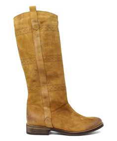 Look at this #zulilyfind! Tan Leather Amei Boot #zulilyfinds