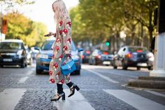 Paris Fashion Week's street style trends: the accessory:: Block heel Mary Janes.