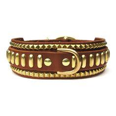 Hendrix, Double D-Ring Collars, Karma Collars, Karma Collars: Custom Leather Dog Collars