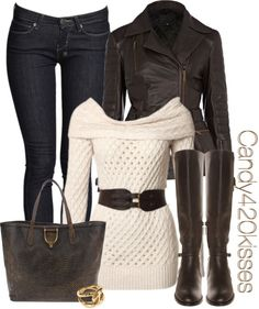 cream and brown ♥✤ | Keep the Glamour | BeStayBeautiful