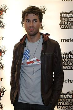 Enrique Iglesias became famous when when one of his pieces were released, and it was a big hit.