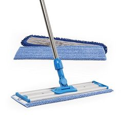 Professional quality, great for cleaning the home or office Professional Microfiber Mop ,Stainless Steel Handle ,Premium Mop Pads + 2 Deep Cleaning Tips, House Cleaning Tips, Cleaning Hacks, Cleaning Products, Cleaning Supplies, Epoxy Garage Floor Coating, Garage Floor Coatings, Epoxy Floor, How To Clean Laminate Flooring